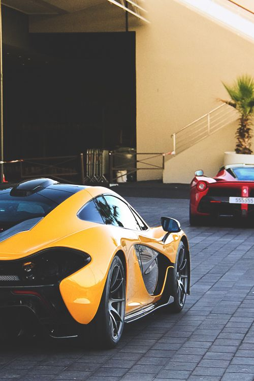 Ferrari #LaFerrari & McLaren P1. More #sports #cars pics at www.fabuloussavers.com/wcarstwo.shtml Thank you for viewing!