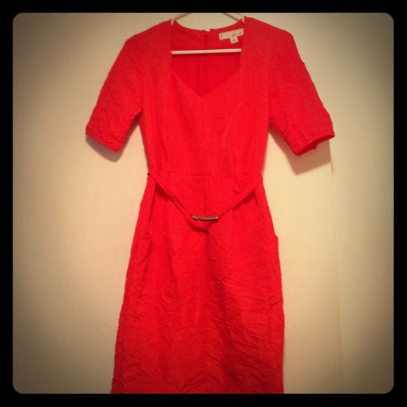 Size 0 Doo.Ri Crinkle Dress Belt fits around waist when worn; excellent for work or play! Doo.Ri Dresses