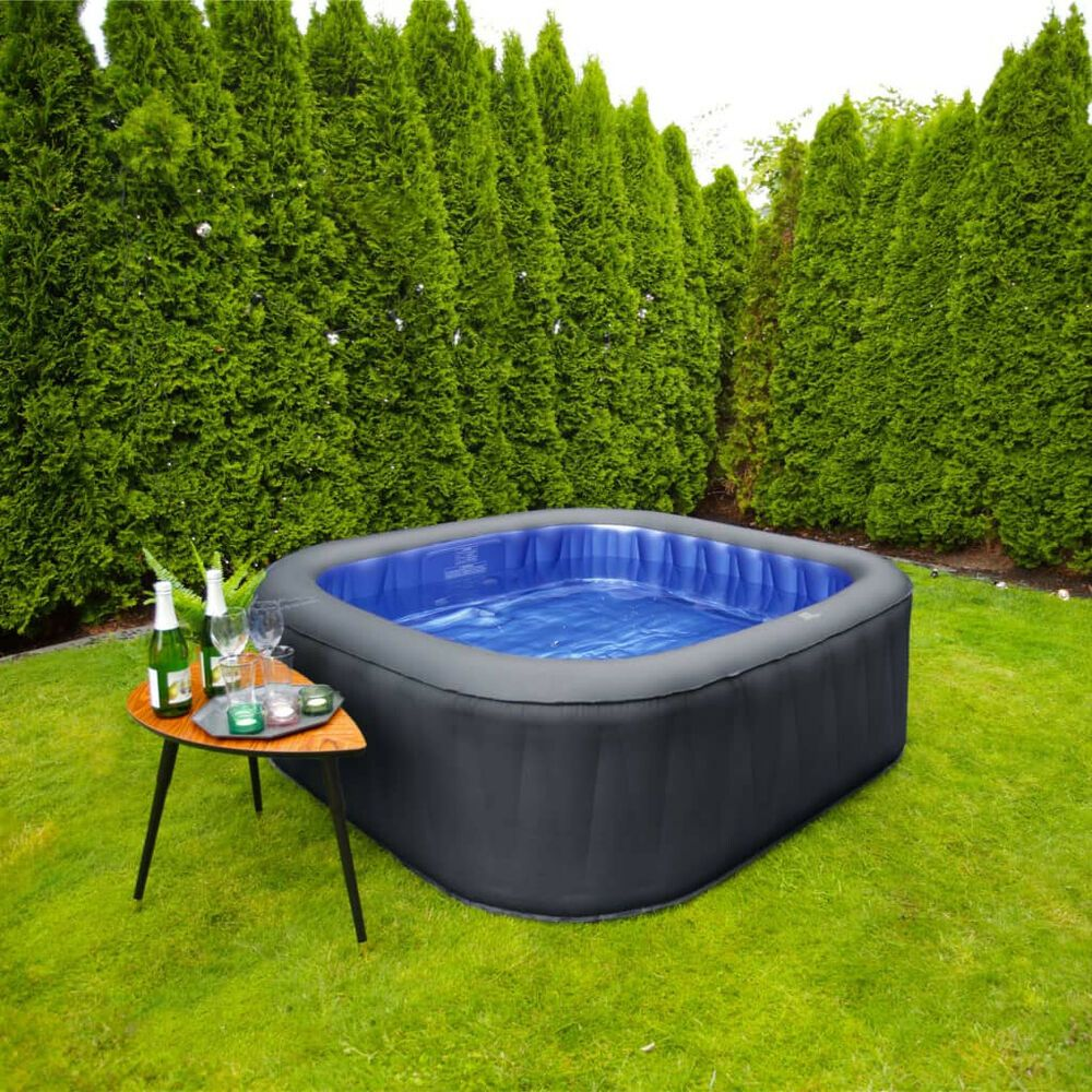 Inflatable Spa Hot Tub Large 6 People Water Sauna Air Bubble Jet Heat Massage Hq Outdoor Outdoorliving Swimming Pool Spa Hot Tubs Inflatable Spas Hot Tub