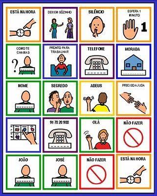 simboli pecs autismo da