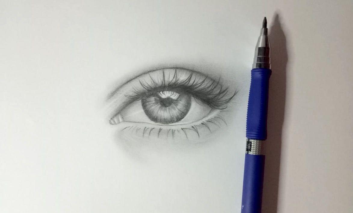 Wie du ein realistisches Auge zeichnen kannst, ohne ein ...