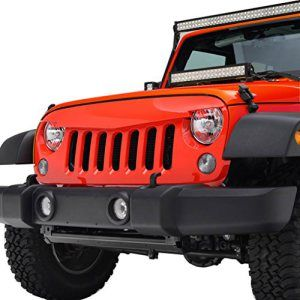 E Autogrilles Jk Jeep Wrangler Red Angry Birds Grille Jeep Jk