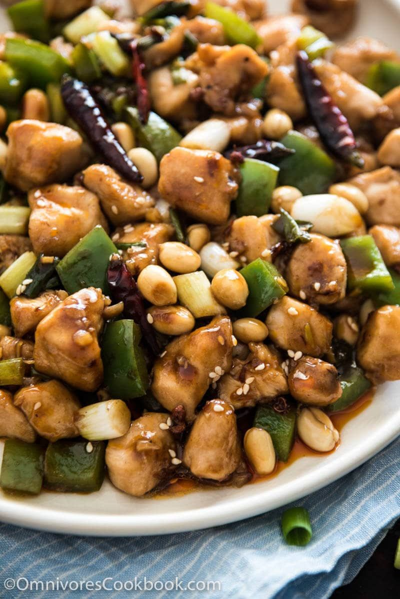 Real Deal Kung Pao Chicken Balanced Sweet Sour Numbing Spicy And Savory Flavors Make For The Perfect Asian Recipes Cooking Chinese Food Best Chinese Food