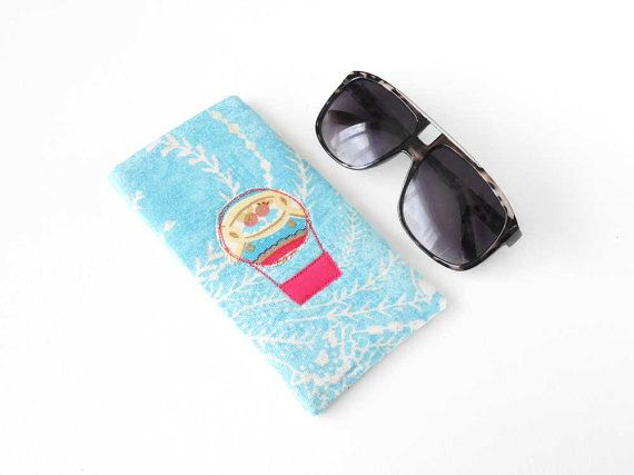 Large Eyeglass Case Glasses Case Sunglasses by LeanneWoodsDesigns, £6.50