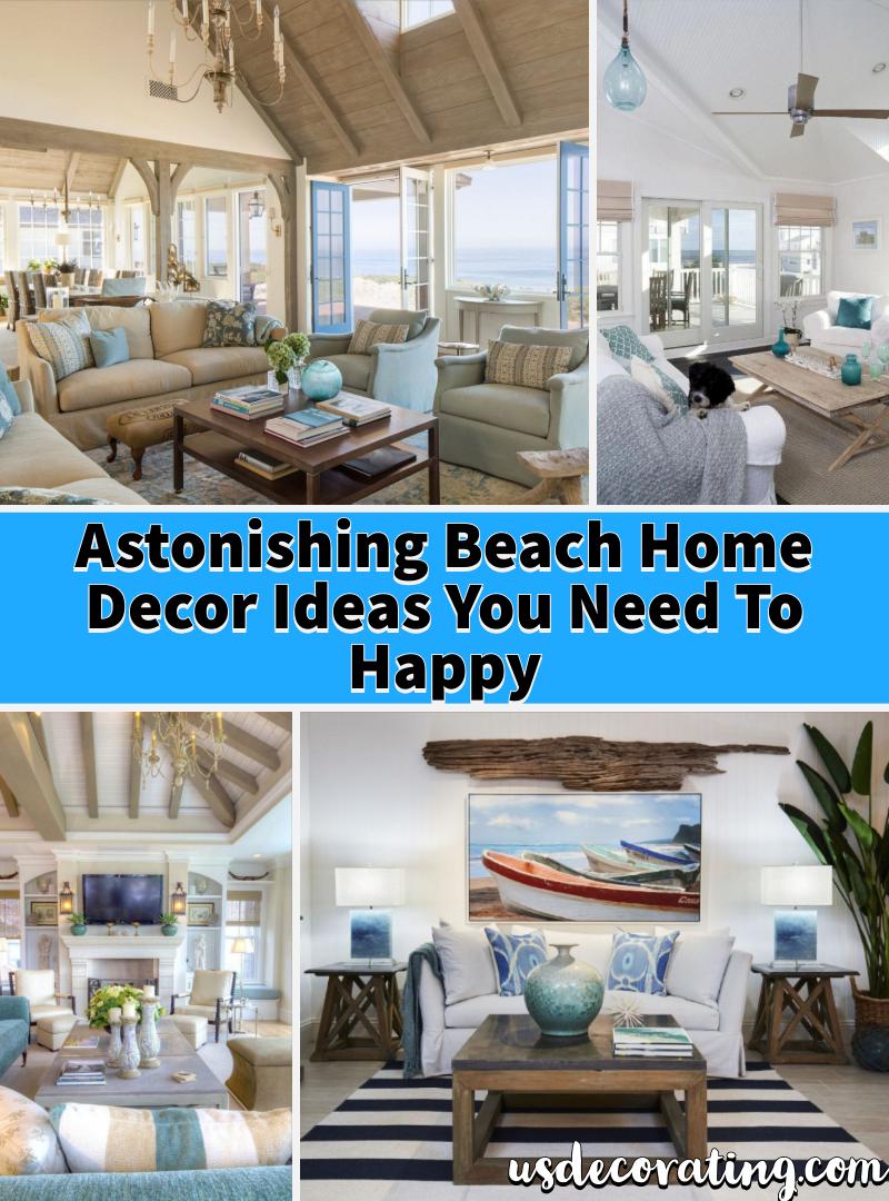 18 astonishing beach home decor ideas you need to happy living rh pinterest es