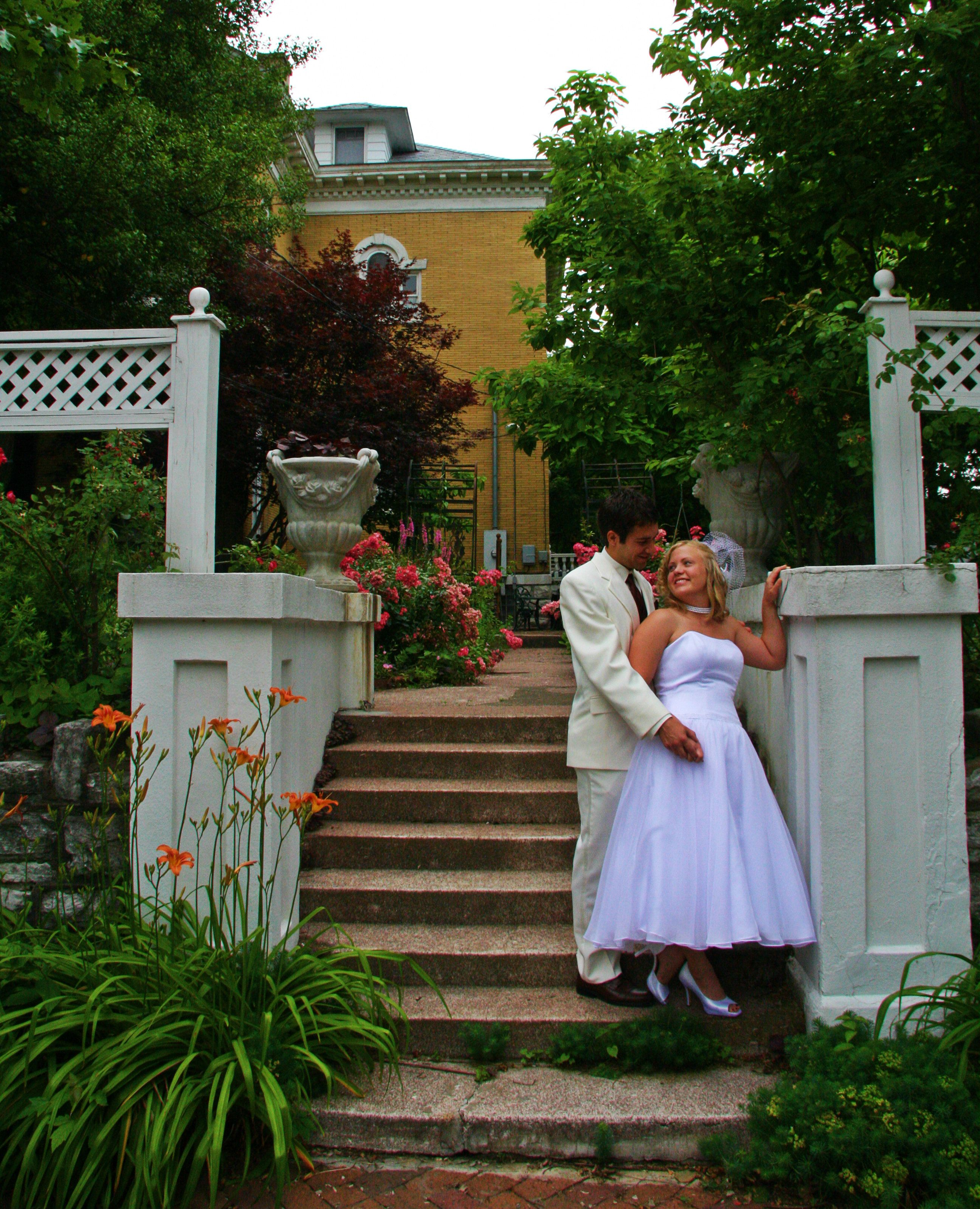The Beall Mansion #gardens Are The Perfect #venue For An