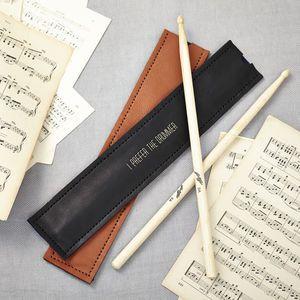 Personalised Drum Stick Holder - bags & purses