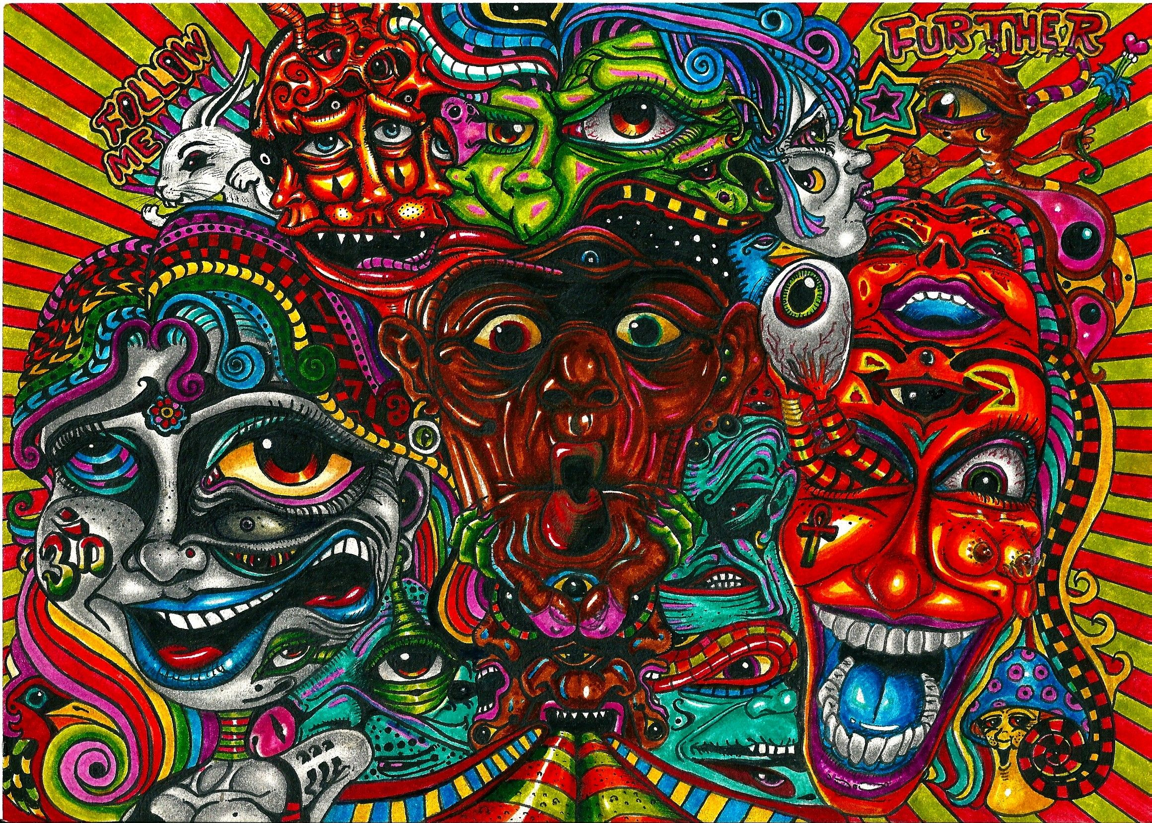 Trippy acid trippy acid art images pics wallpapers pic 14 steves physco art pinterest - Trippy acid pics ...