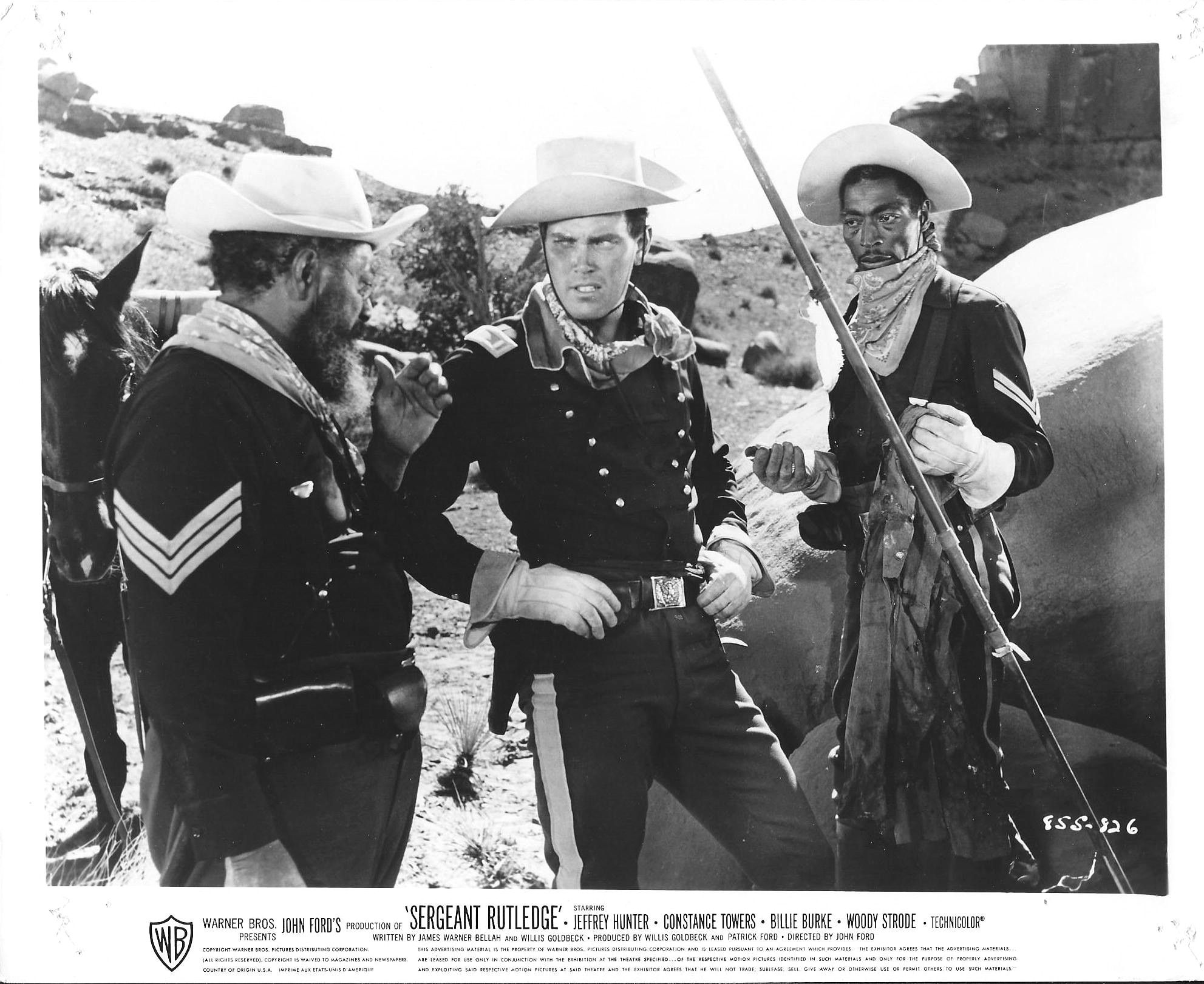 Sergeant Rutledge - 1960 - John Ford | Cowboys And Indians ...