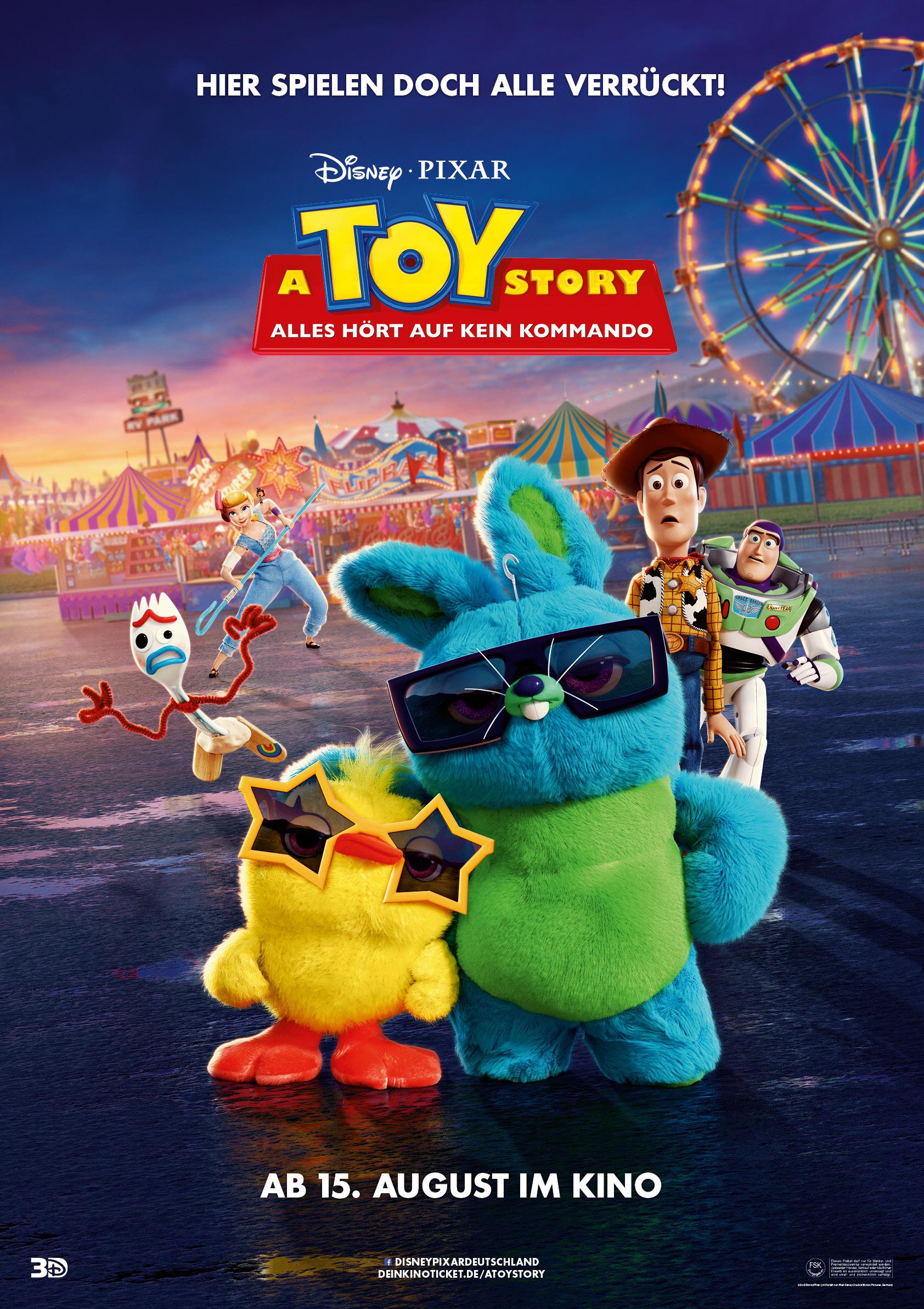Постер мультфильма История игрушек 4 | История игрушек ...