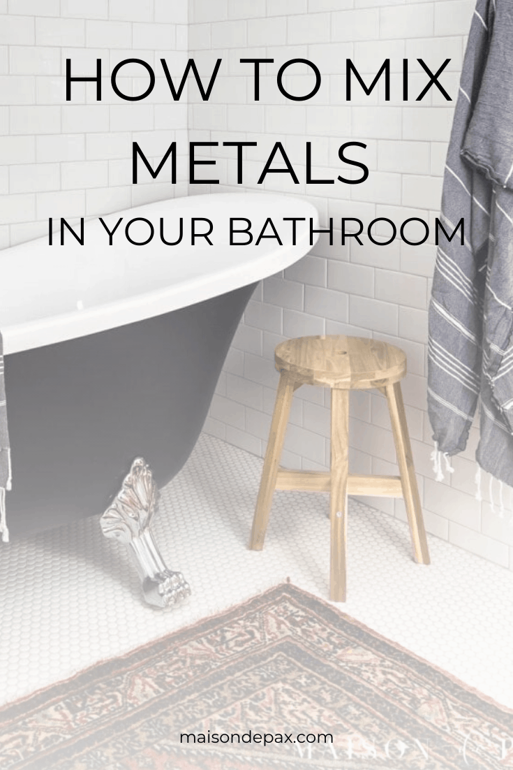 Photo of 3 combined bathroom design combinations made of metal – Maison de Pax