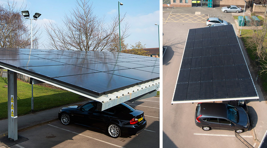 Solar Panel Carport Solar Carports For Business Casas Ecologicas Casas