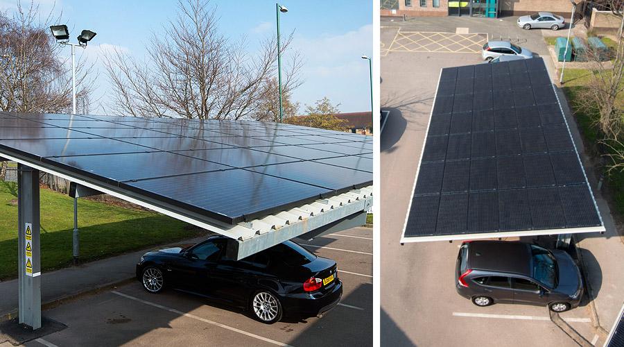 Solar Panel Carport Solar Carports For Business Casas Ecologicas Casas