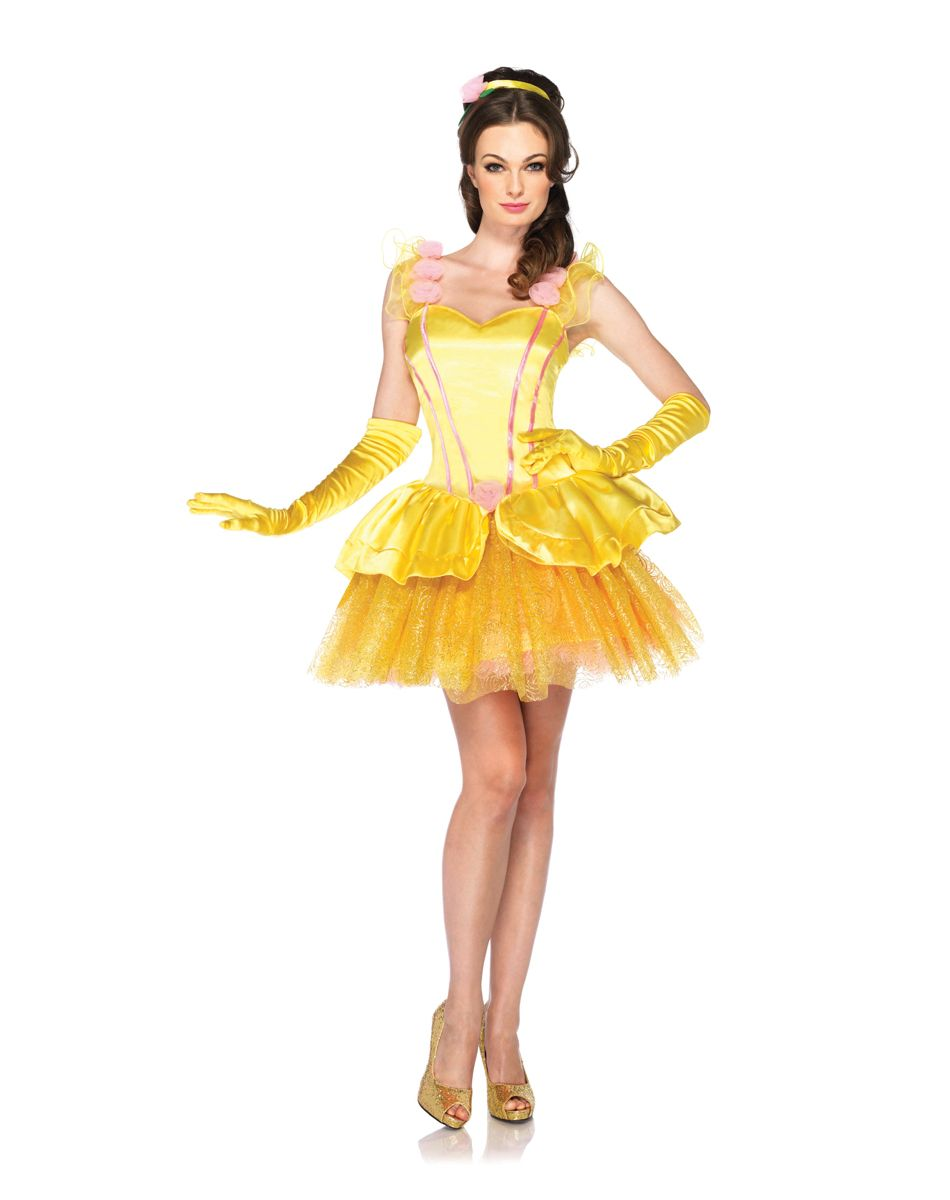 Disney Beauty and the Best Princess Belle Adult Women's Costume ...