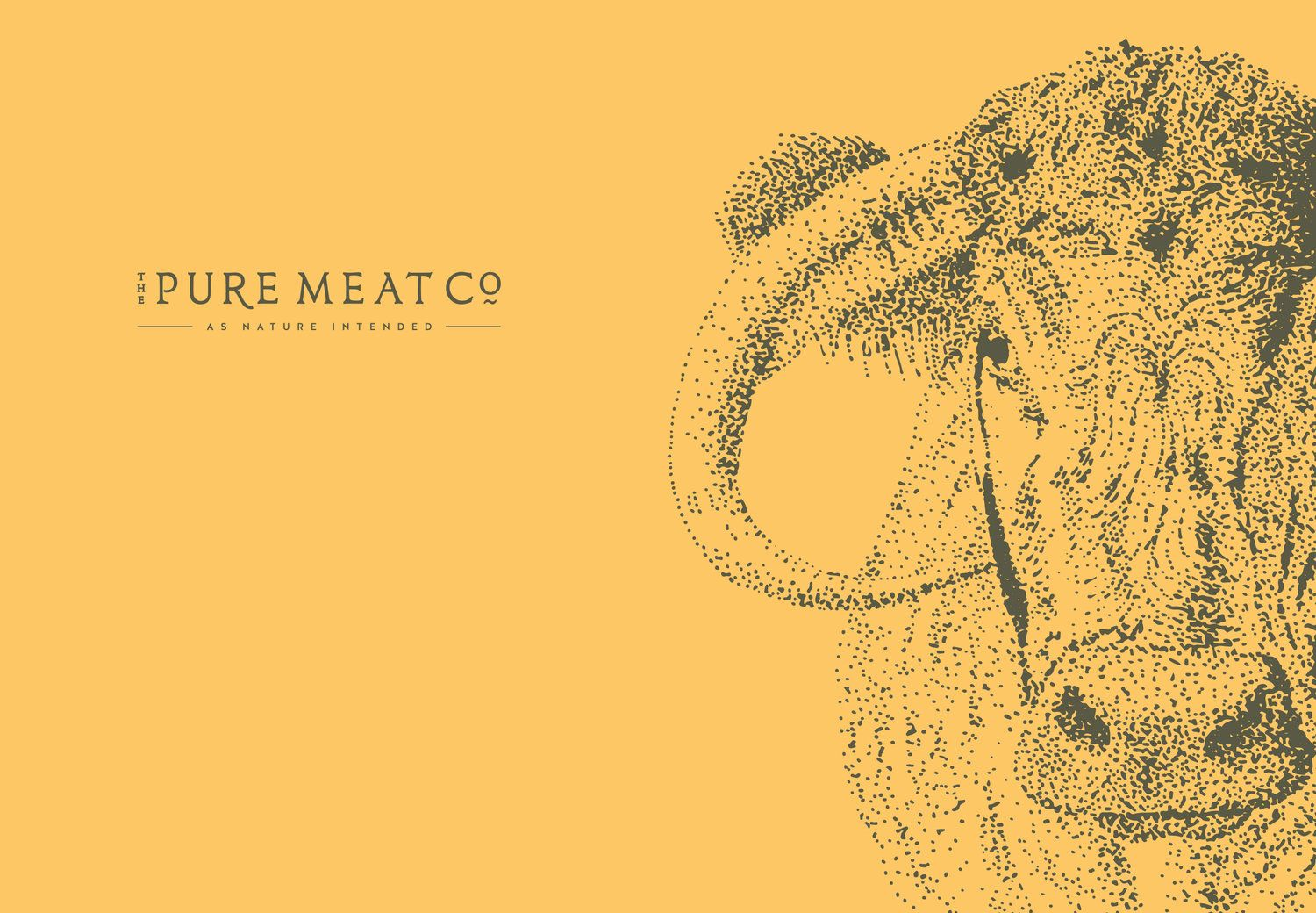 1588bce112a37b The Pure Meat Company brand identity and logo design by Ditto Creative