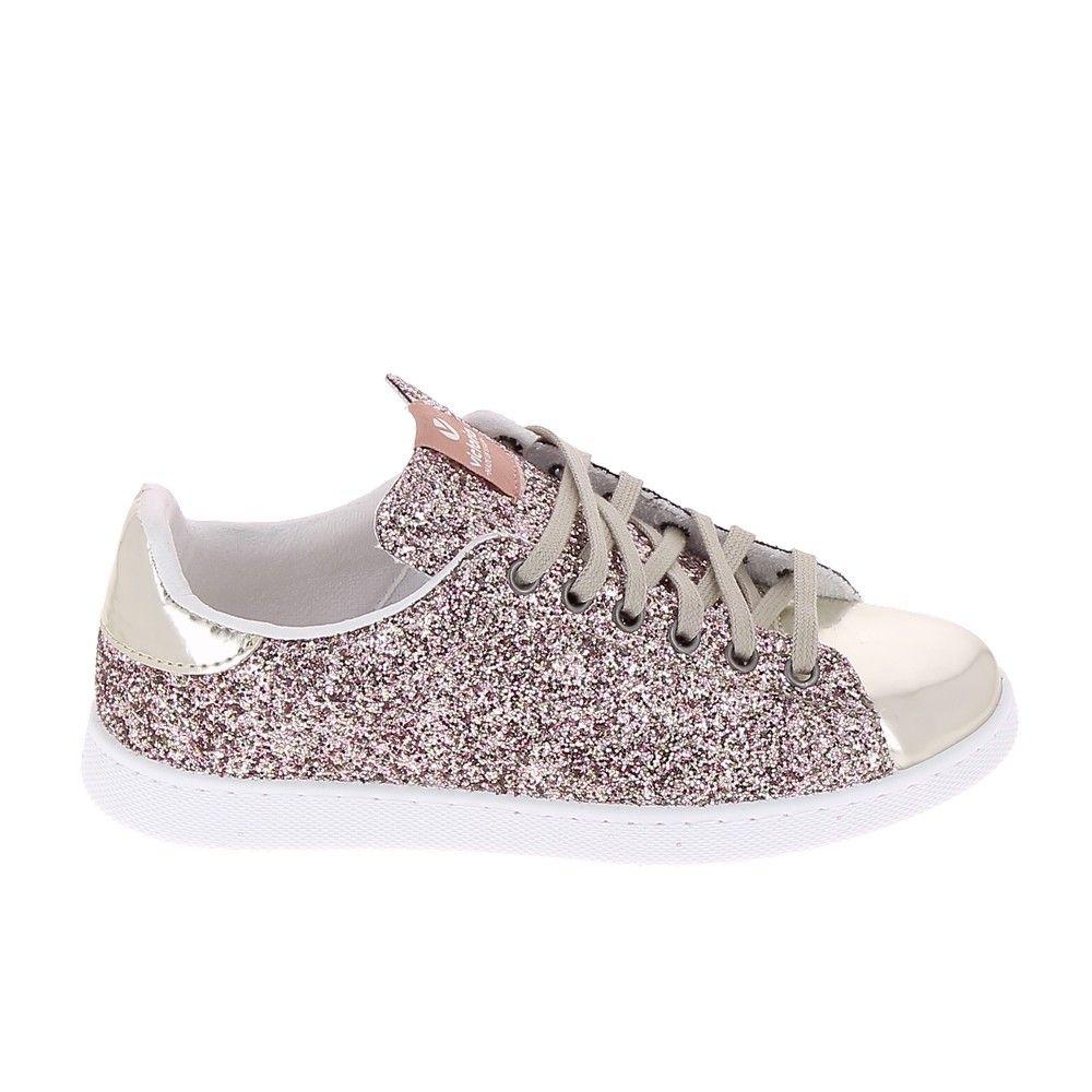 Victoria Shoes Femme Paillettes Plateforme