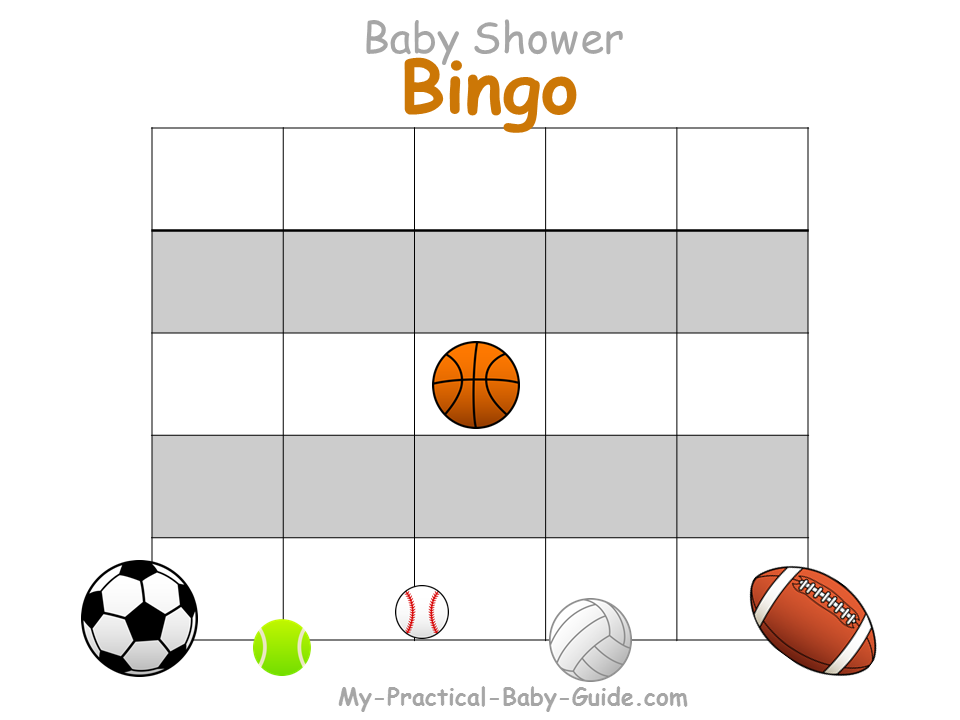 Sport Baby Shower Theme Ideas My Practical Baby Shower Guide