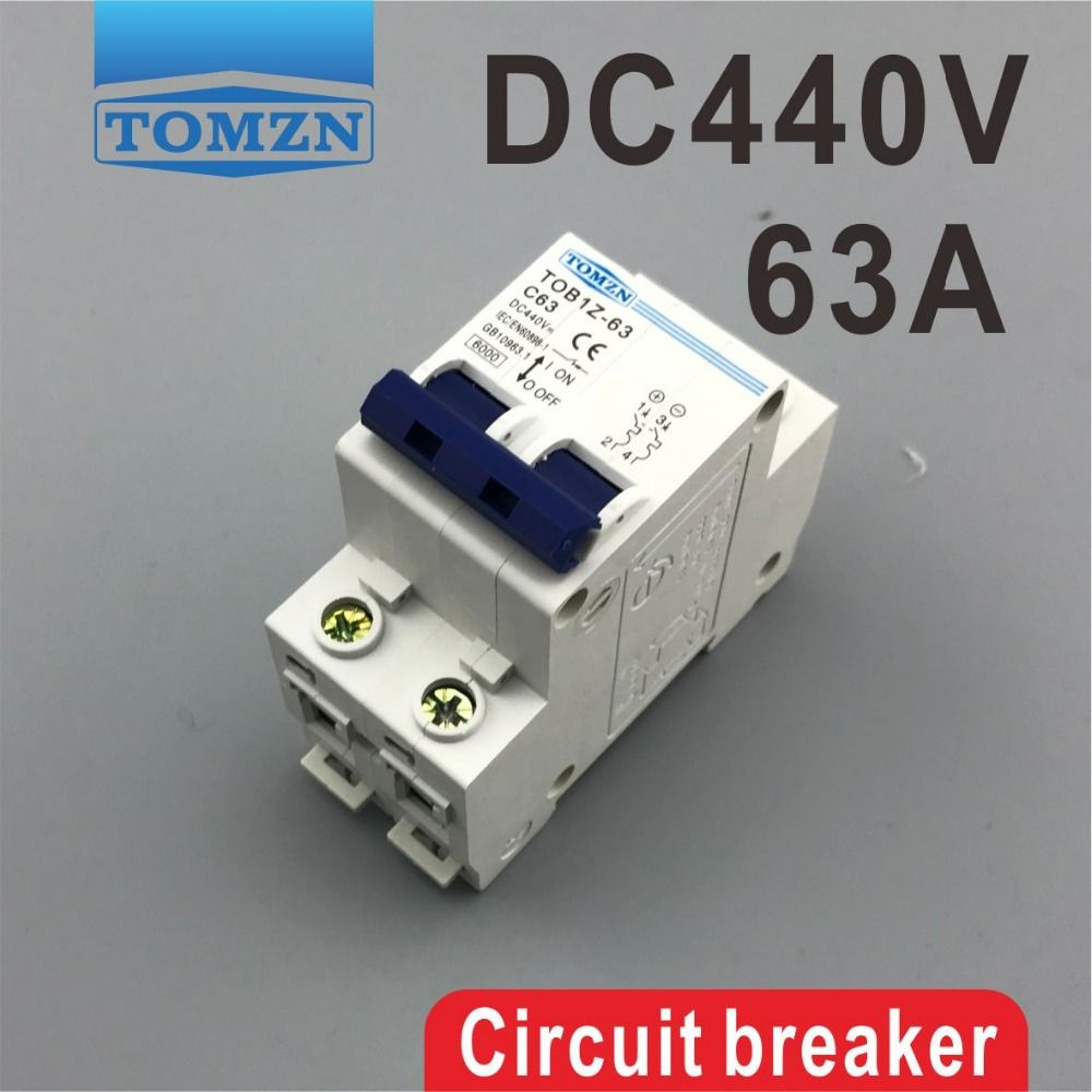2p 63a Dc 440v Circuit Breaker Mcb Affiliate Electrical Equipment Usb Flash Drive Circuit
