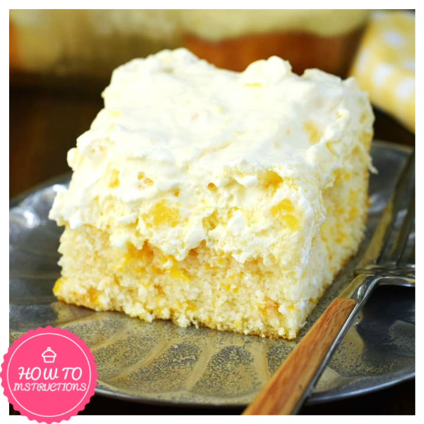 Pineapple Orange Cake: Pineapple Orange Cake Is An Easy, Light Dessert Recipe