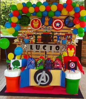 38 Maravillosas Ideas De Decoración Para Fiesta De Los Vengadores Fiesta De Los Vengadores Cumpleaños De Los Vengadores Los Vengadores