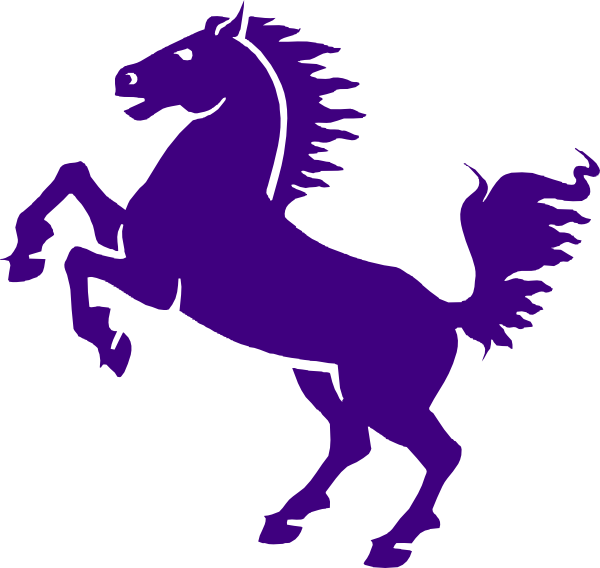 purple mustang clip art at clker com vector clip art online rh pinterest ca mustang running horse logo mustang horse logo clip art