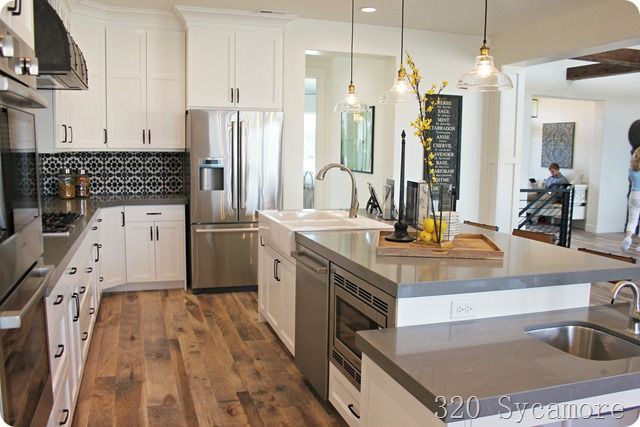 fixer upper kitchen parade kitchen ideas pinterest. Black Bedroom Furniture Sets. Home Design Ideas