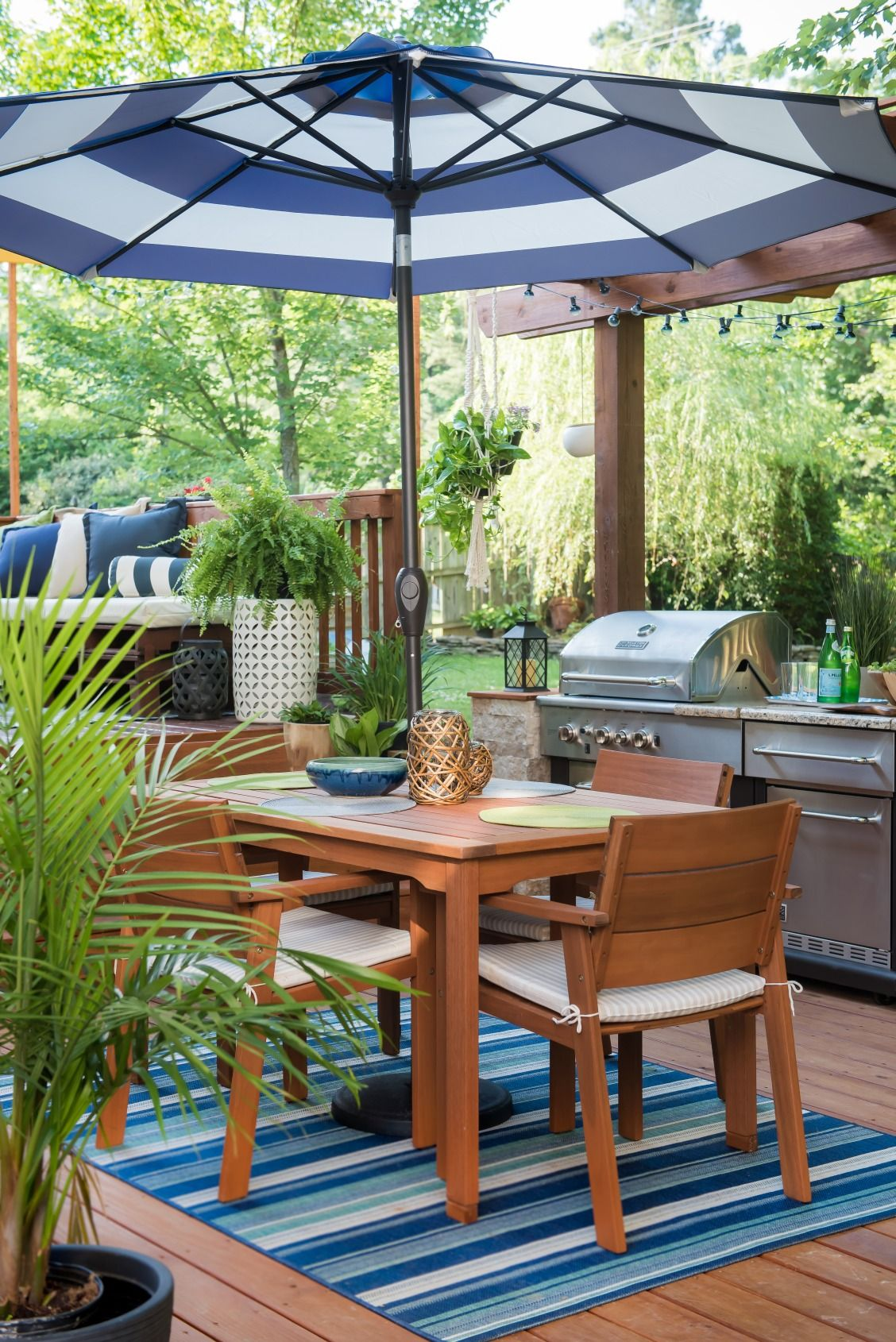 Place Of My Taste Designed The Ultimate Patio Dining Space, Lounge, And  Kitchen For Extended Outdoor Entertaining. Click To Get Every Detail.