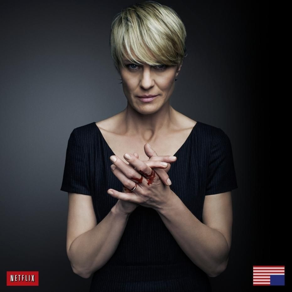 repost: claire underwood from netflix's house of cards