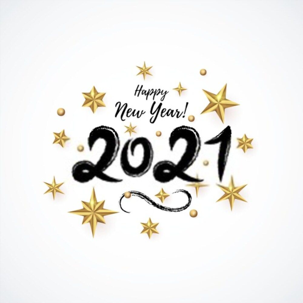 Pin On Happy New Year 2021 2021 golden happy new year background