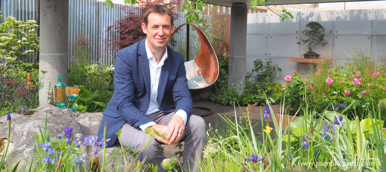 David Neale And The Silent Pool Gin Garden At The Rhs Chelsea