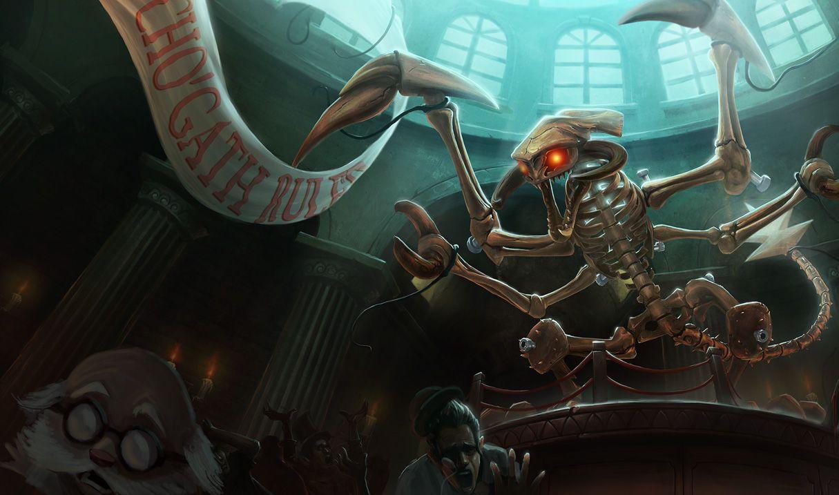 Jurassic Chogath Skin League Of Legends Artwork Pinterest