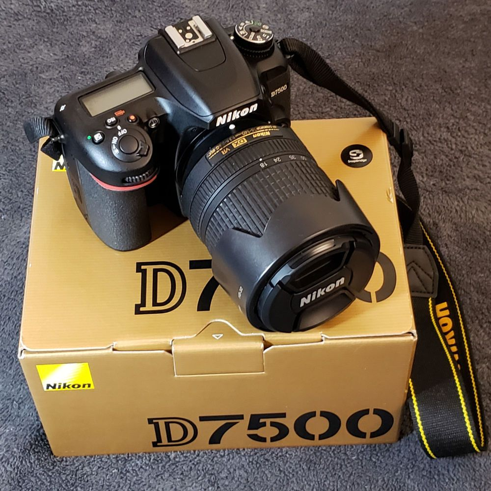 Nikon D7500 Digital Slr Camera With 18 140mm Lens 3 Batteries Best Camera For Photography Digital Slr Camera Canon Camera Photography