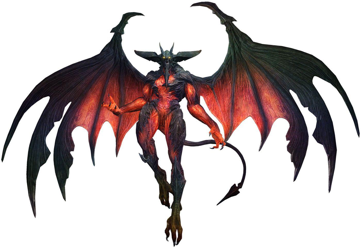 Diabolos from Final Fantasy XIV: A Realm Reborn   Creature
