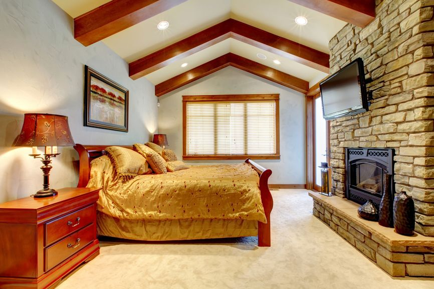 83 Modern Master Bedroom Design Ideas Pictures Gas Fireplace Master Bedroom And Beams