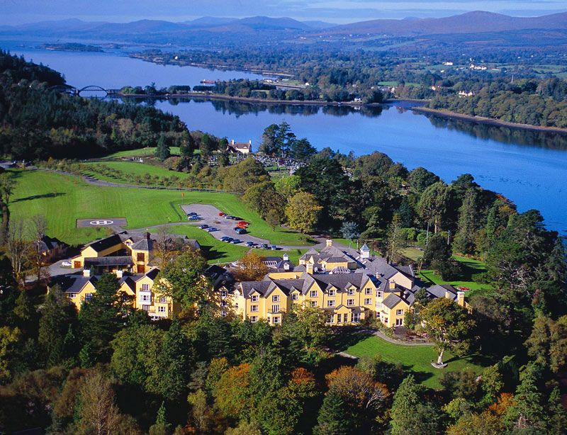 Sheen Falls Lodge Kenmare Co Kerry Ireland Experience One Of S Finest Hotels