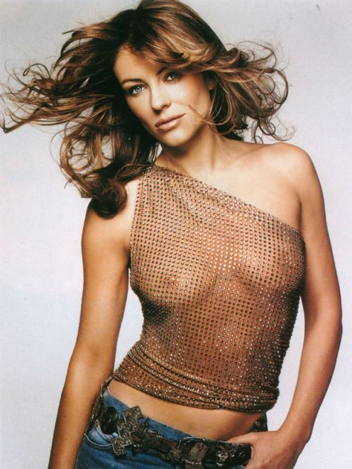 Think, that Elizabeth hurley see through dress opinion, the