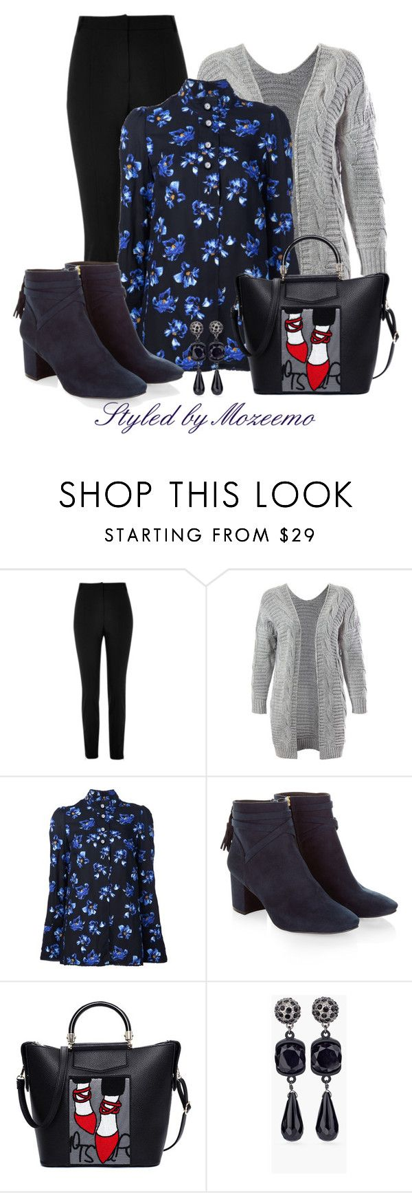 """""""Window Shopping Outfit"""" by mozeemo ❤ liked on Polyvore featuring River Island, Sans Souci, Proenza Schouler, Monsoon and Chico's"""