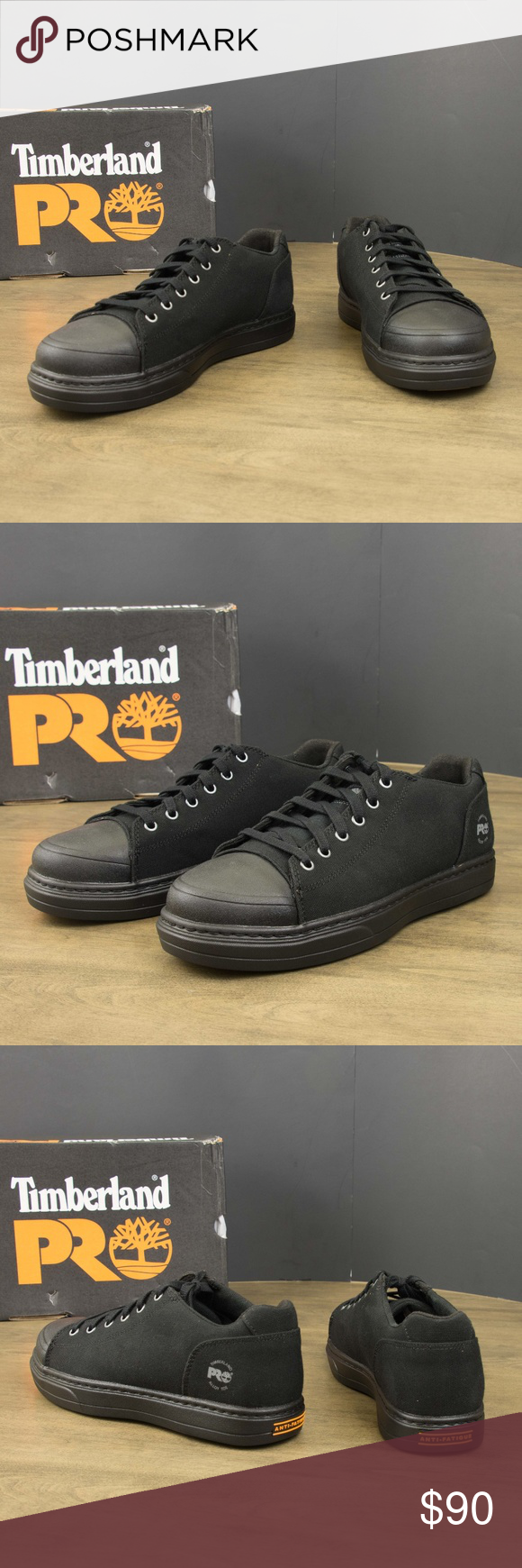96aa3235100 MEN'S TIMBERLAND PRO DISRUPTOR ALLOY TOE CANVAS Condition: New With ...