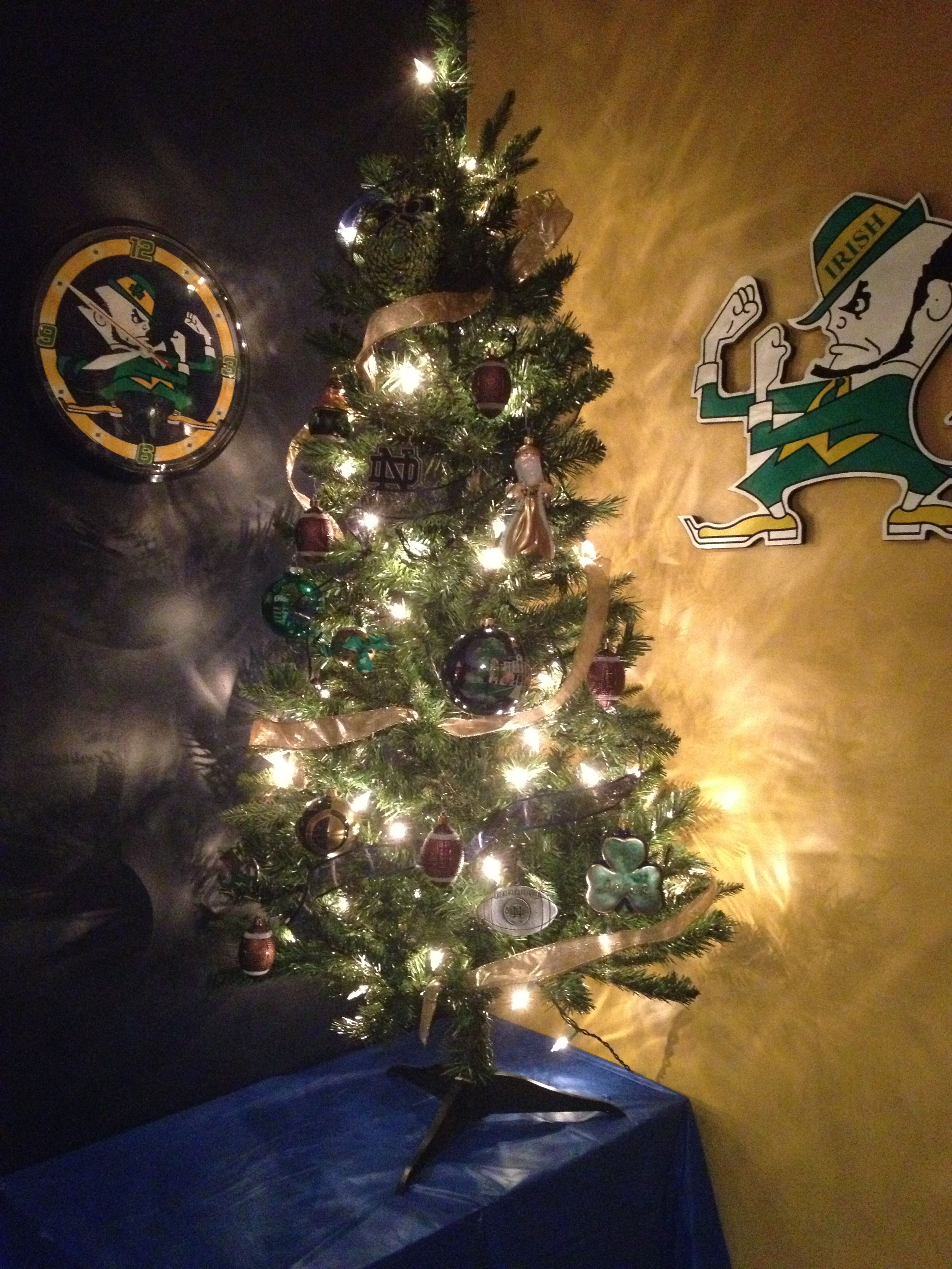 The Notre Dame Christmas tree I did for my hubby | My Creations ...