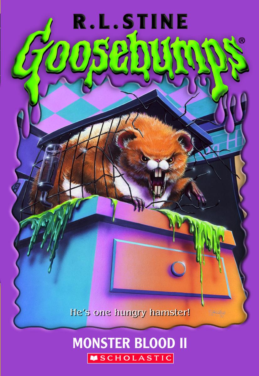 goosebumps the werewolf in the living room goosebumps monster blood ii goosebumps original covers