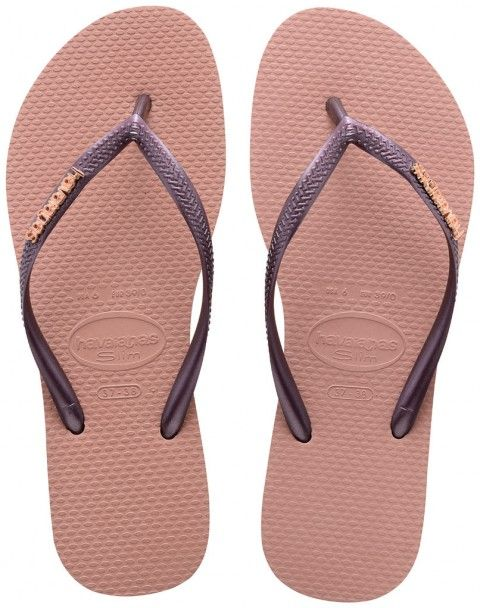 Slim Animals, Tongs Femme Rose (Crocus Rose), 43/44 EU (41/42 Brazilian)Havaianas