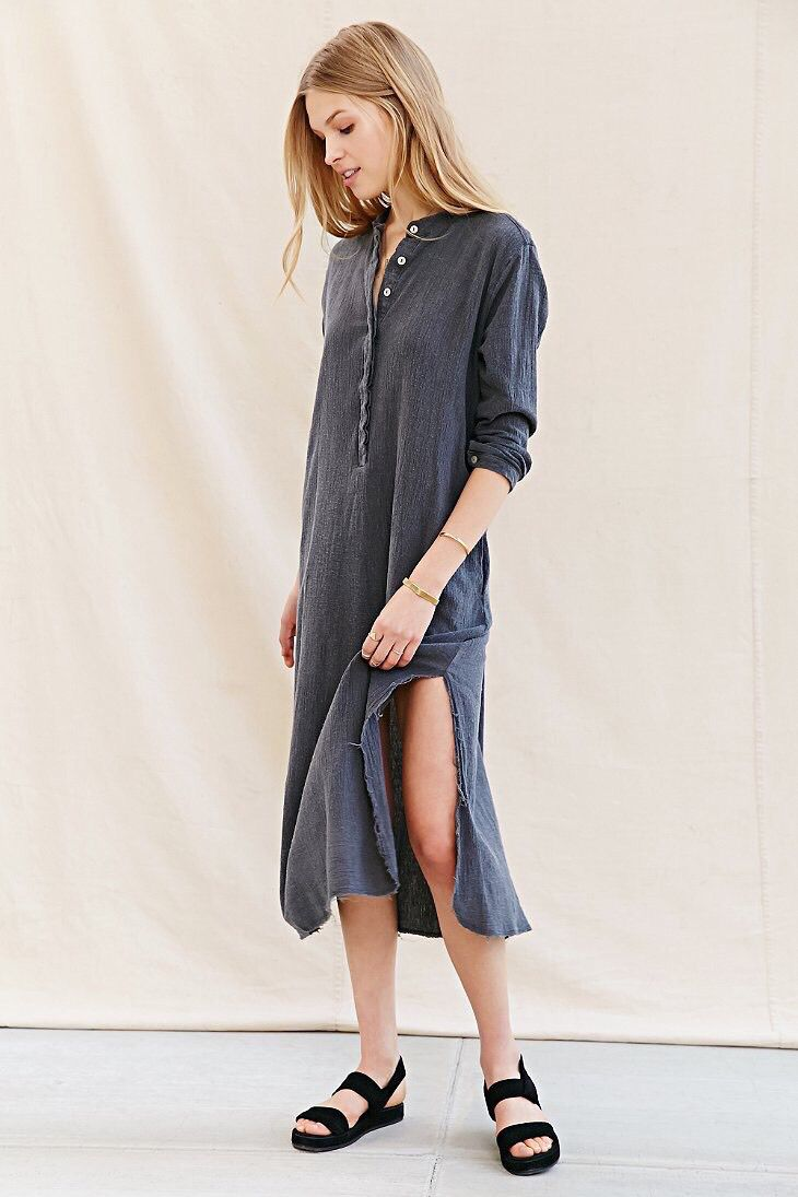 Mandarin collar flannel  Pin by Elizabeth on Info  Pinterest  Fashion