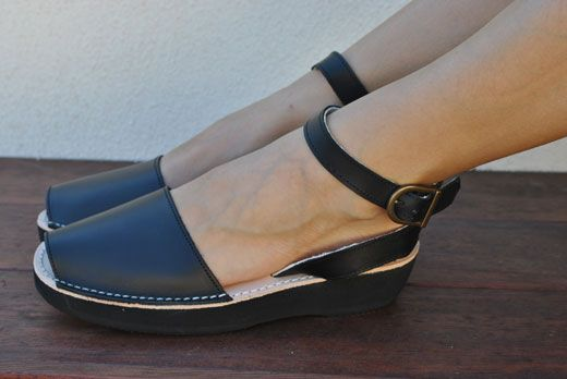 c89ce3422c Avarcas USA - Mediterranean in black my next sandal purchase for sure!  Women s Spanish leather sandals