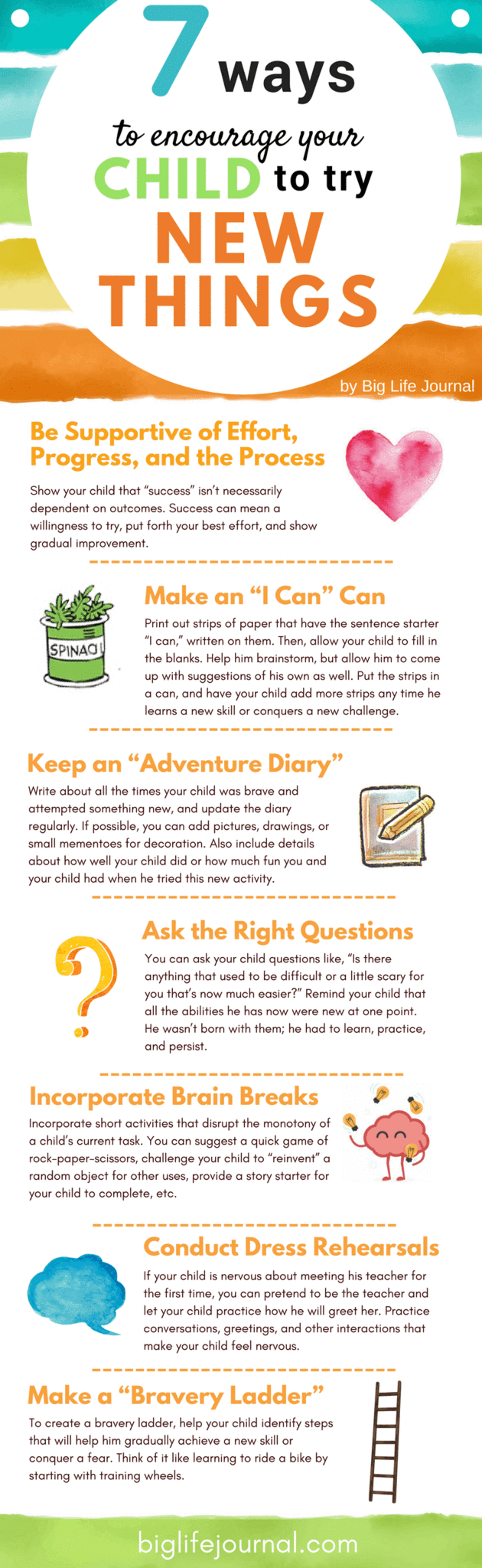 Ways to Encourage Your Child to Try New Things