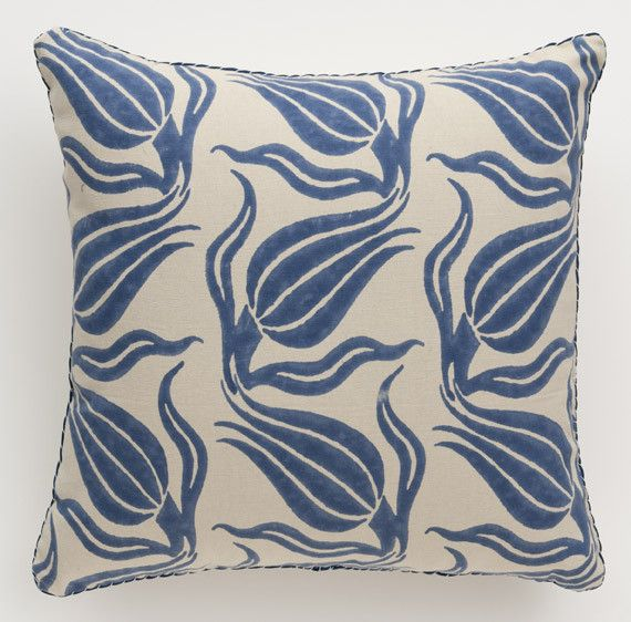 Madeline Weinrib With Images Pillows Blue Pillows Madeline