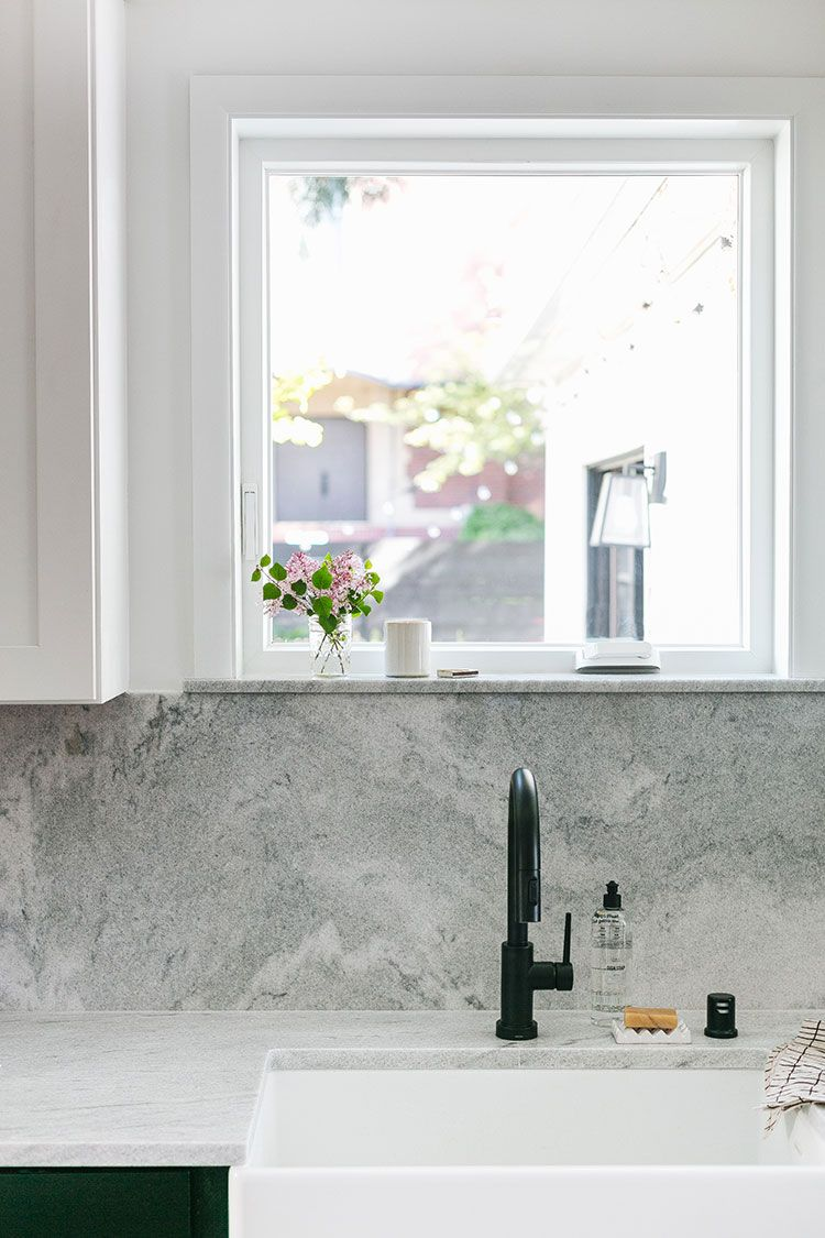 Everything You Need to Know about Selecting a New Milgard Window   a giveaway! See the before and after makeover of our @milgard window over the farmhouse sink in our kitchen renovation on jojotastic.com #ad #milgard #oldhouse #kitchen #kitchenrenovation #demoday #renovation #oldhome #oldhomerenovation #smallspaces #smallkitchen #kitchenrenovation #beforeafter #kitchenmakeover #kitchen #makeover #fixerupper