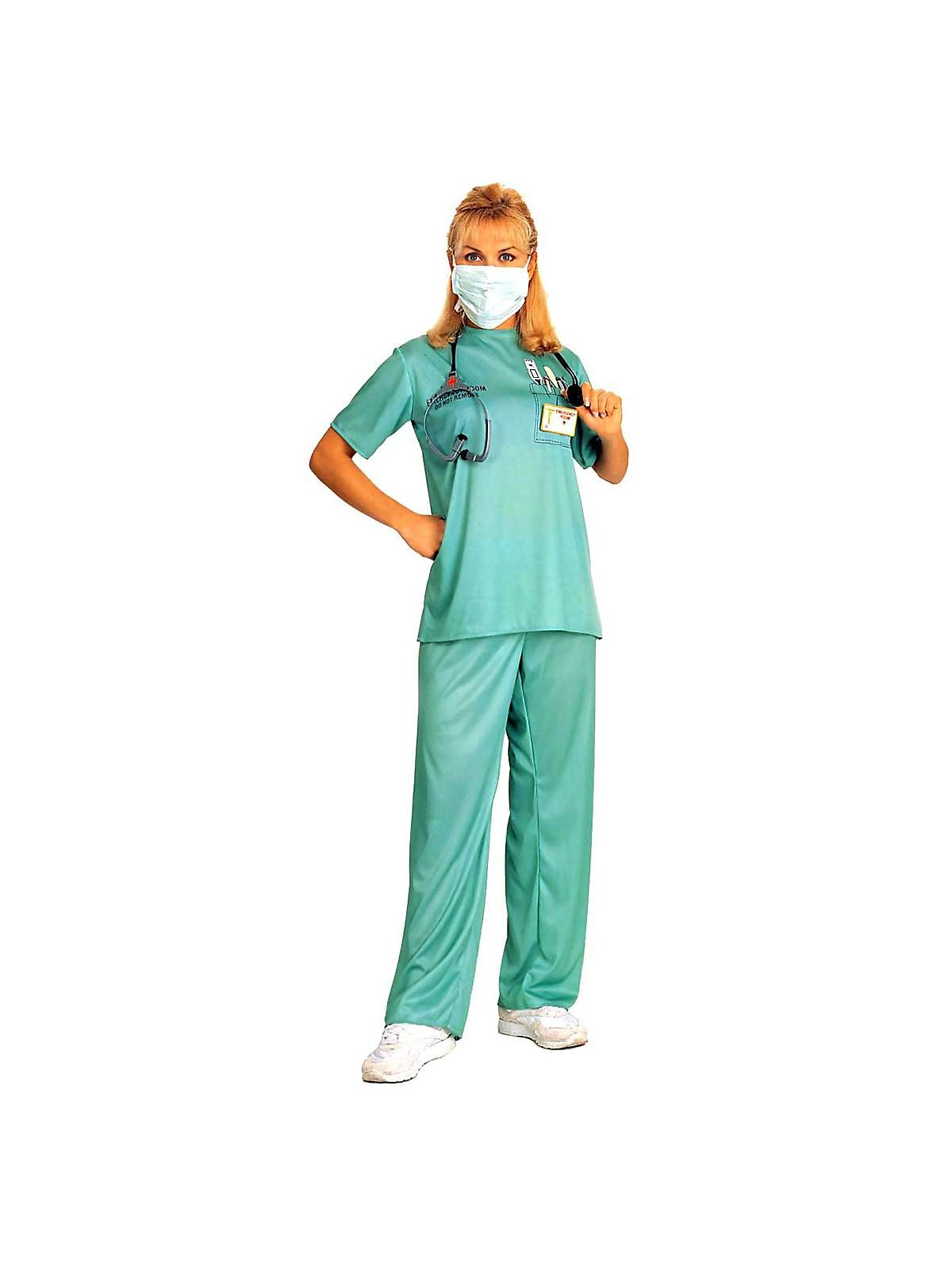 Emergency Room Female Surgeon Costume | Womens Doctor Costumes  sc 1 st  Pinterest : doctor costumes for adults  - Germanpascual.Com