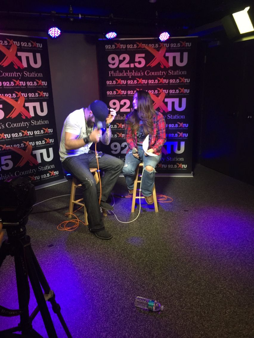 Greatest Experience Getting To Interview Brantley Gilbert At The 925 XTU Radio Station