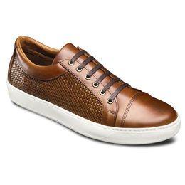 brisbane sneaker 3734 walnut leather and weave  mens