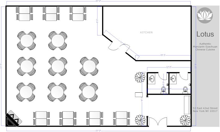 Restaurant floor plans free download restaurant floor for Restaurant planning software